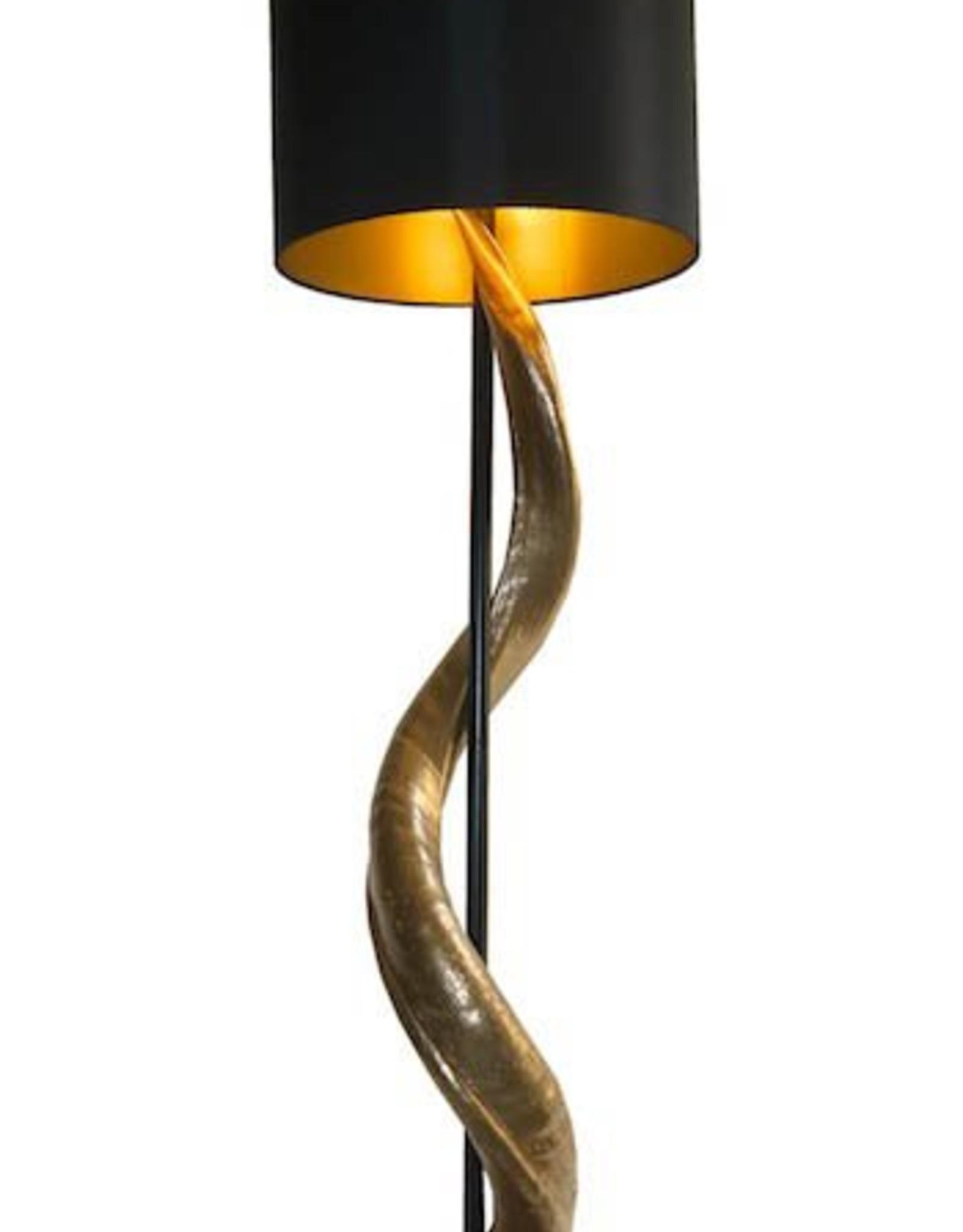 Kudohorn Lampe Zebra Lounge