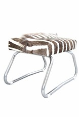 Zebra Hocker SAFARI, Klapphocker