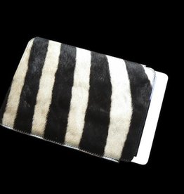 Tabelt PC Hülle aus echten Zebrafell