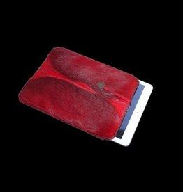 Tabelt PC Hülle aus roten Springbockfell