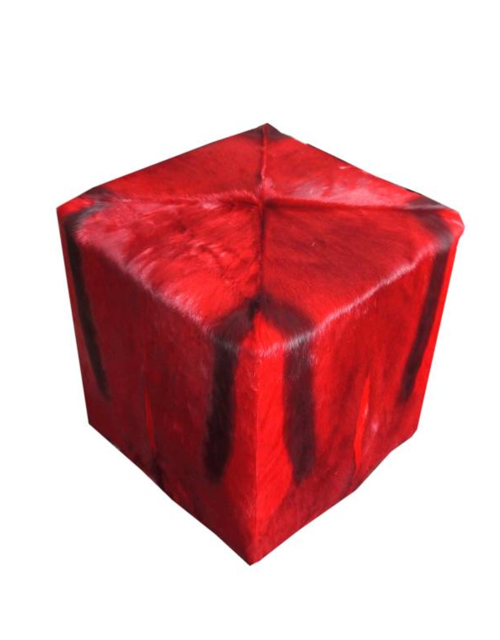 Springbock Hocker RED CUBE