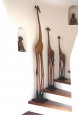Holzgiraffe aus Afrika 205cm
