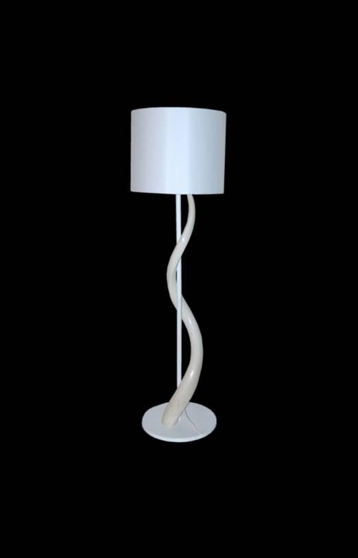 Kudohorn Lampe  Weiß