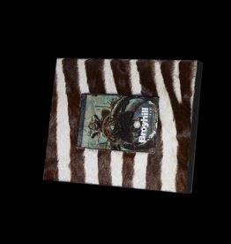 Bilderrahmen Zebra  BR040 in Dunkelbraun