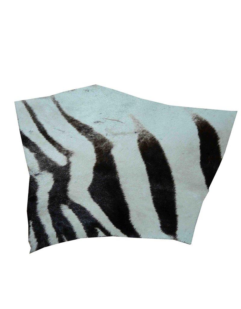 Echtes Zebrafell Reststück zur Weiterverarbeitung