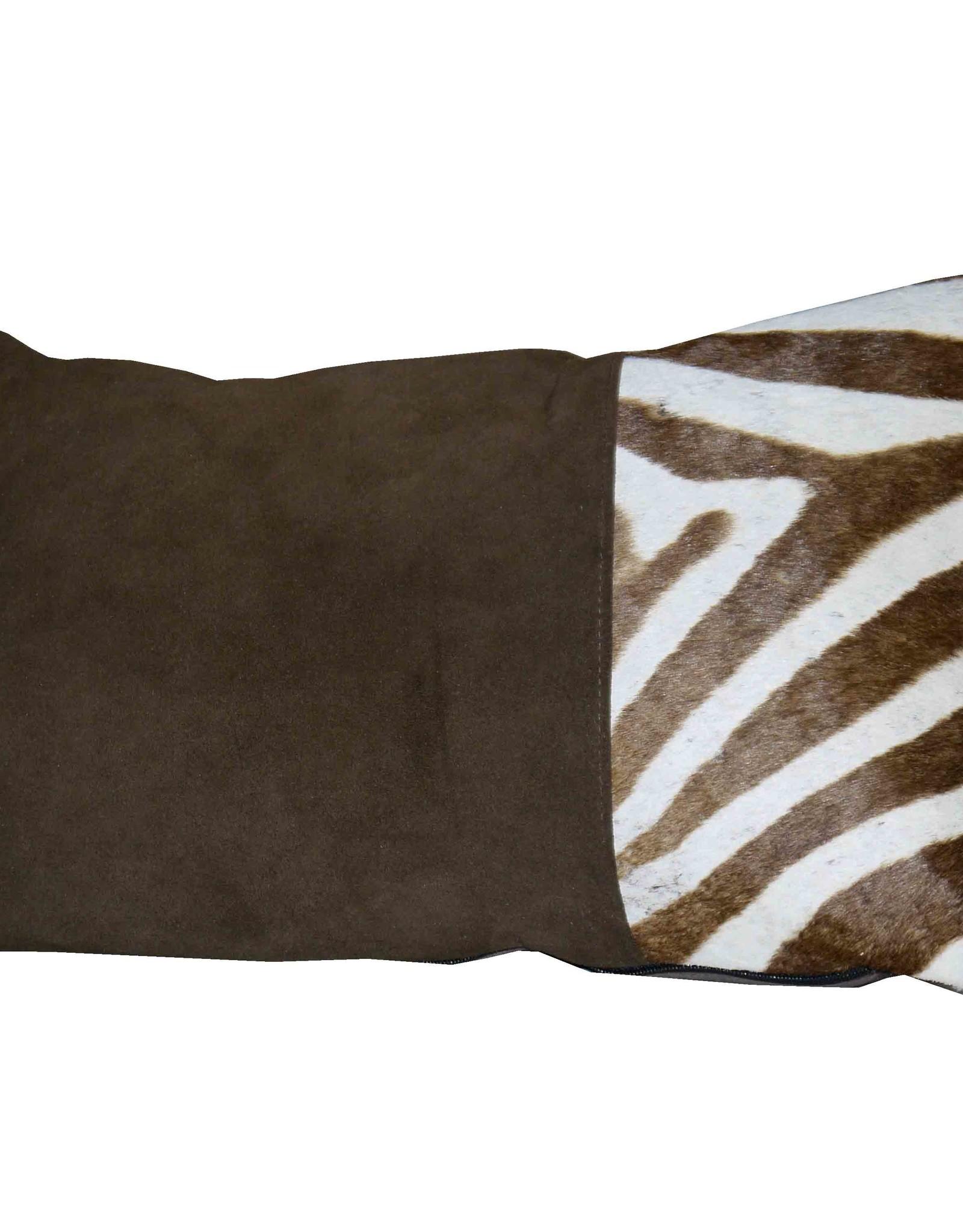 Designer Zebrafell Kissen KD017