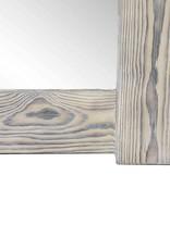 Shou Sugi Ban Spiegel / Flamed Wood Spiegel