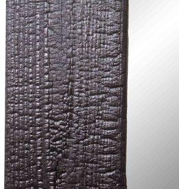 Shou Sugi Ban Spiegel Black / Flamed Wood Spiegel Black