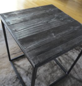 Shou Sugi Ban  / Flamed Wood  Couchtisch BlackCube