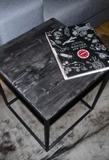 Shou Sugi Ban / Flamed Wood Couchtisch Coffeetable Beistelltisch Cube