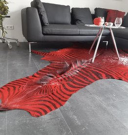 Zebrafell RED LOUNGE  M281