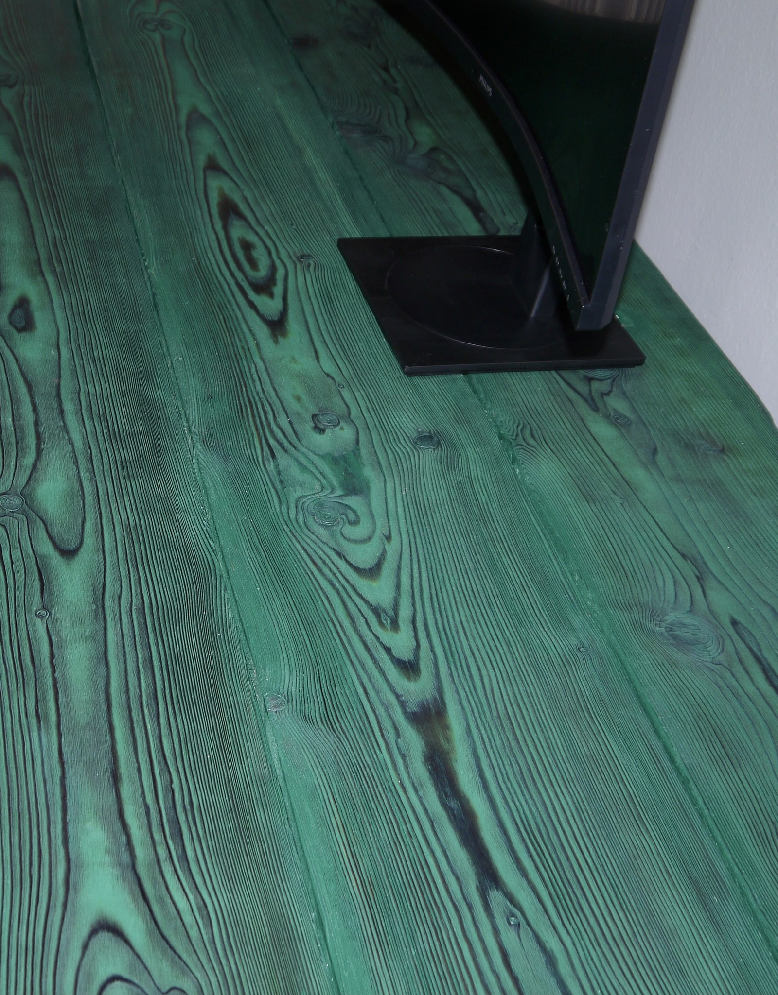 Flamed Wood Schreibtisch
