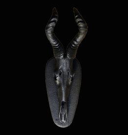 Antilope in matt Schwarz,  edles Design