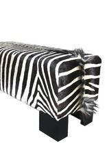 Zebra Bank Safari aus echten Zebrafell