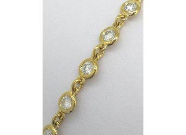 Gold bracelets diamonds