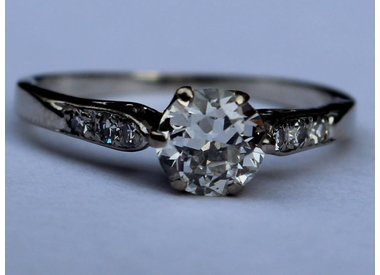 Antieke ringen diamanten