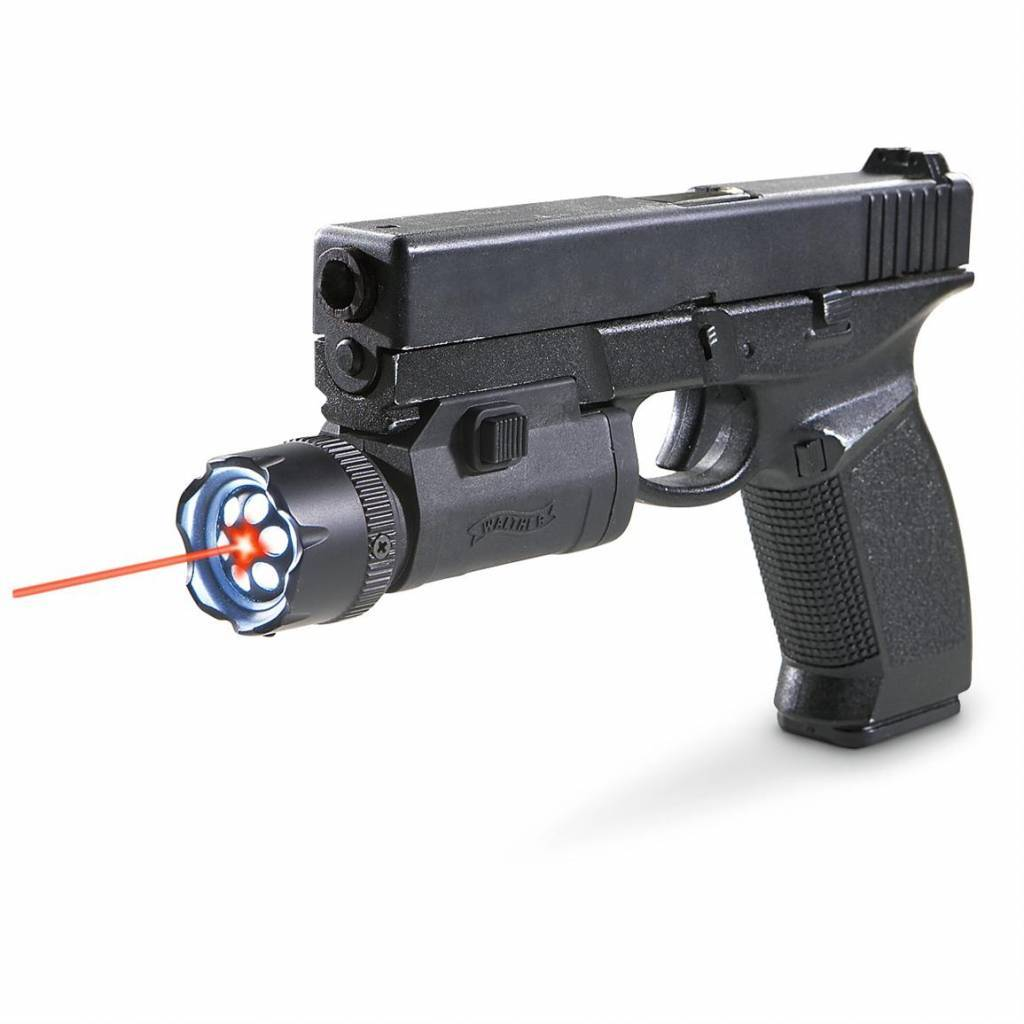 Walther  Night Force Combo - Laser mit LED-Flashlight