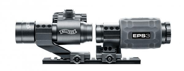 Walther EPS3 - Red Dot PS22 & 3 fach Magnifier