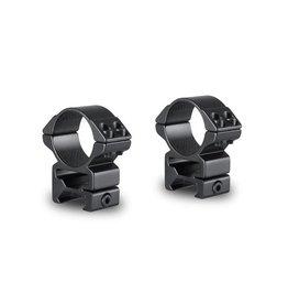 Hawke Montages Match 30mm 2 Pièces - Weaver Haute