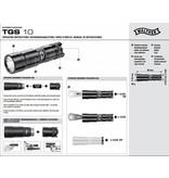 Walther Série Tactical Guard - Lampe de poche TGS10