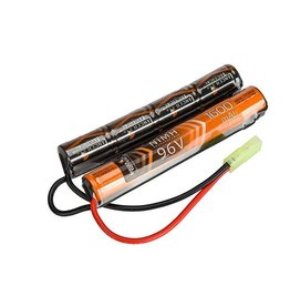 ACM Ni-Mh battery 9.6V 1.600 mAH - type Nunchuck