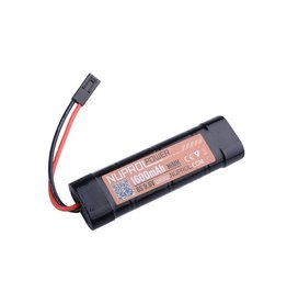 Nuprol Ni-Mh battery 9.6V 1.600 mAH - type block