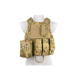 ACM Tactical Gilet tactique type AAV FSBE - MultiCam