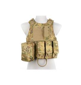 ACM Tactical Taktische Weste Typ AAV FSBE - MultiCam