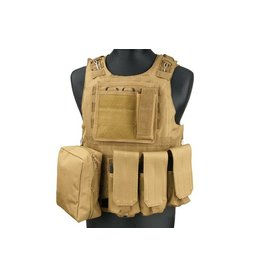 ACM Tactical Gilet tactique type AAV FSBE - TAN