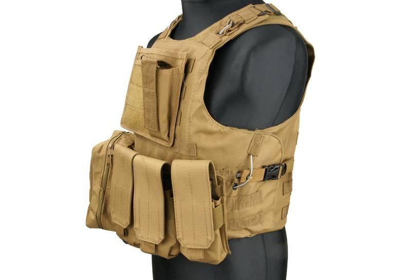 ACM Tactical Taktische Weste Typ AAV FSBE - TAN