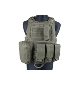 ACM Tactical Gilet tactique type AAV FSBE - OD