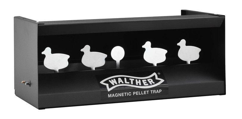Walther Schiessstand - Figuren-Scheibenkasten mit 4 Kippscheiben