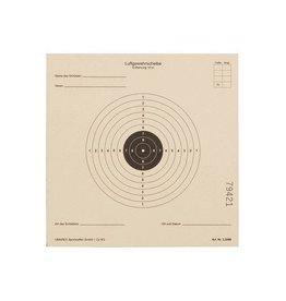 Umarex AirGun AirSoft cible la norme ISSF, 14 x 14 cm - 1 000 pièces