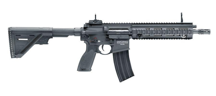 H&K 416 A5 AEG mit Mosfet - 1,30 Joule - schwarz - Semi only