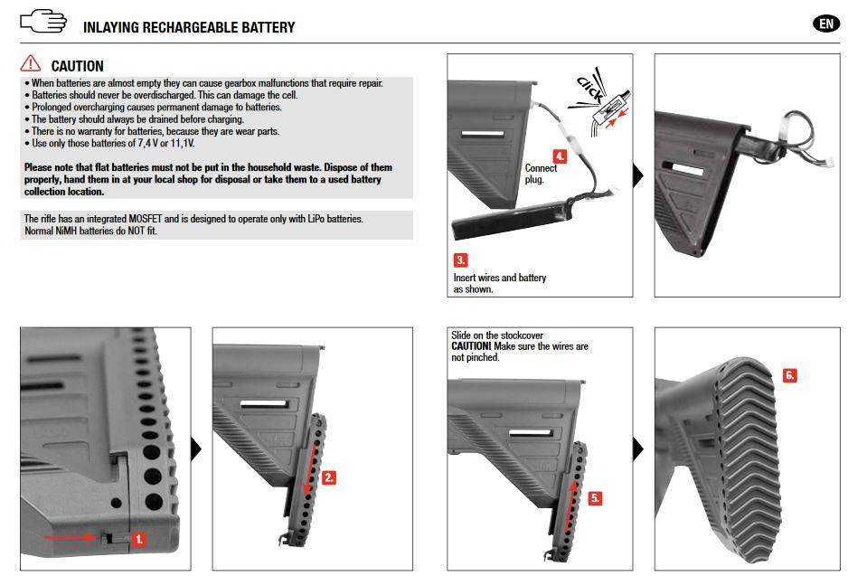H&K 416 A5 AEG mit Mosfet - dark earth - Semi only