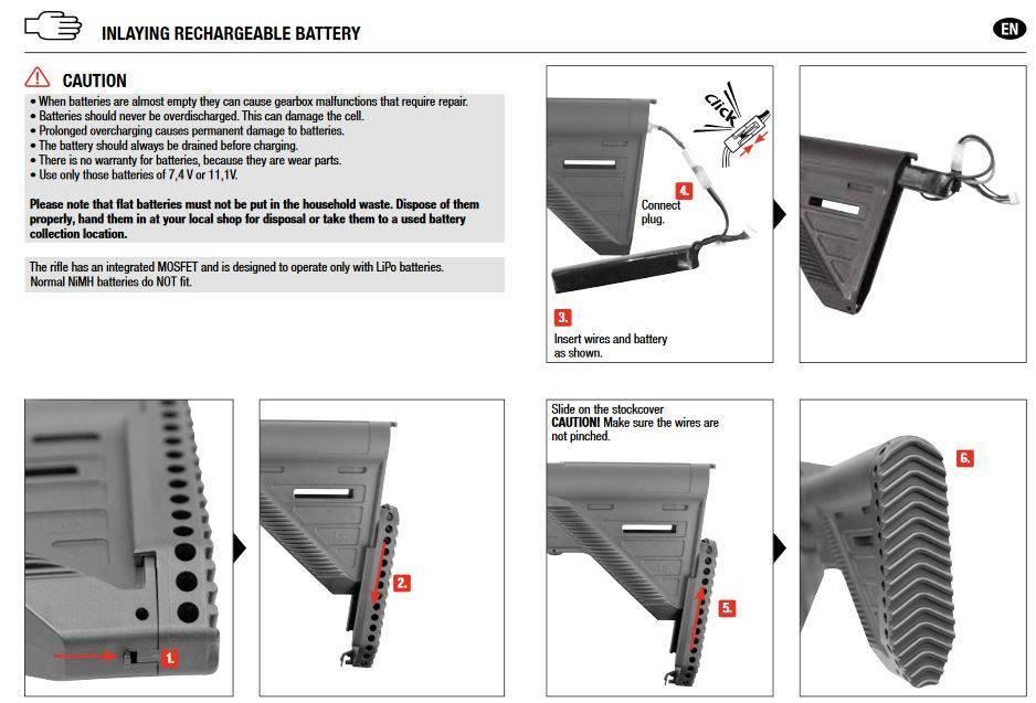 H&K 416 A5 AEG mit Mosfet - 1,60 Joule - dark earth - Semi&FullAuto