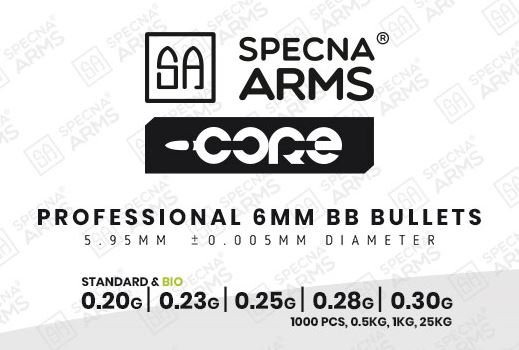 Specna Arms CORE 0,20g BIO BB - 5.000 Stück - weiss