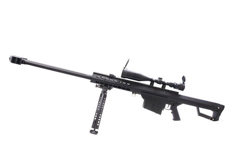 Snow Wolf SW-02A Barrett M82A1 Sniper AEG Kit - BK