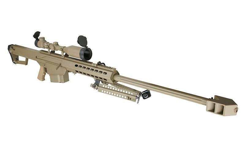 Snow Wolf SW-02A Barrett M82A1 Sniper Kit AEG - TAN