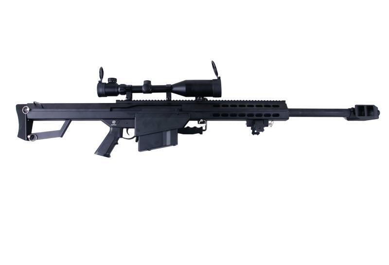 SW-02A CQB Barrett M82A1 Sniper AEG Kit - BK