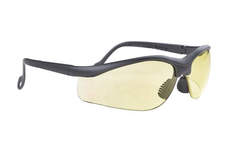 G&G Schutzbrille - BK/ Yellow Lens