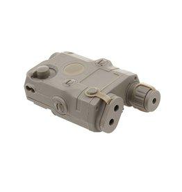 FMA AN / PEQ-15 battery box incl. Laser module - TAN