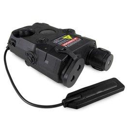 FMA AN/PEQ-15 Batteriebox inkl. Licht-/Laser Modul - BK