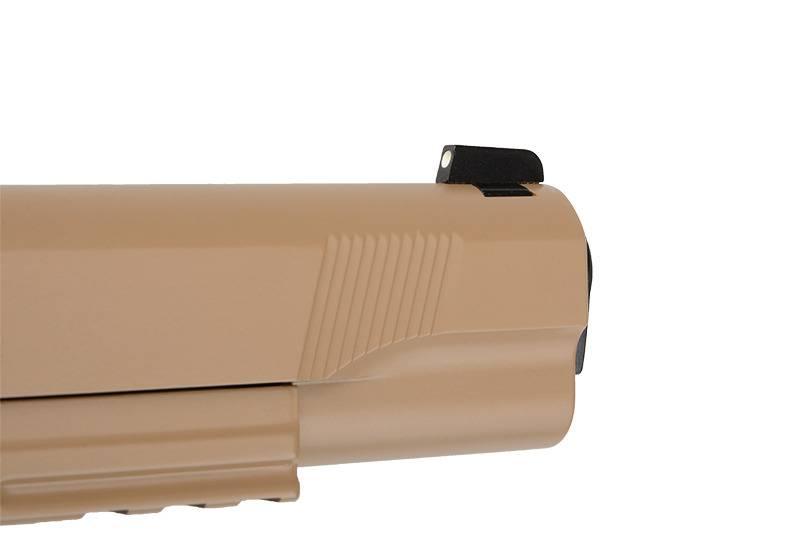 ASG STI 1911 Tac Master Co2 GBB - TAN/BK
