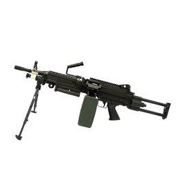 A&K LMG M249 Para AEG Mitrailleuse - BK