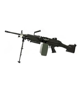 A&K LMG M249 MK2 AEG Maschinengewehr 1.41 Joule - BK