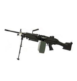 A&K LMG M249 MK2 AEG Maschinengewehr - BK