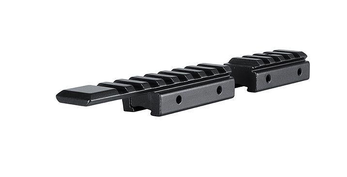 Hawke Adapterschienen von 11 mm Airgun auf 22 mm Picatinny/Weaver - 2 Stück