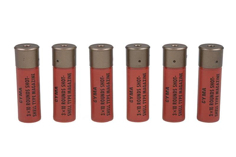 Cyma 6 x Coques pour la série CM Shotgun Spring