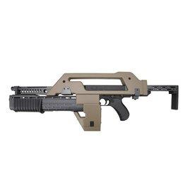Snow Wolf M41A Pulse Alien Gun AEG - TAN